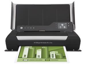 Transportabel Printer - HP Officejet 150 Mobile
